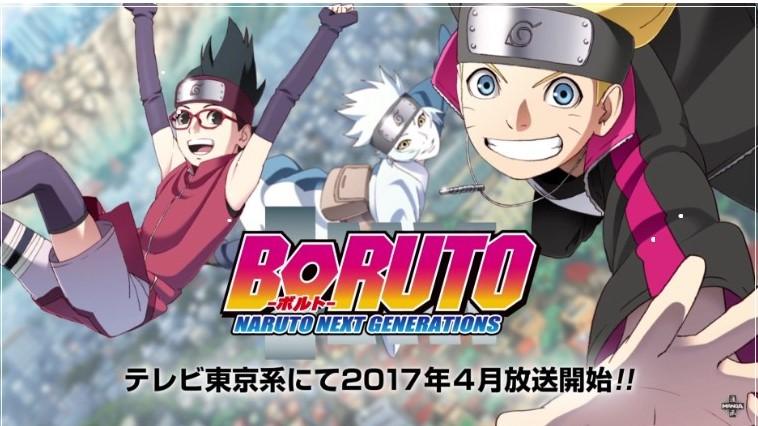 BORUTO – NARUTO NEXT GENERATIONS was just announced at Jump