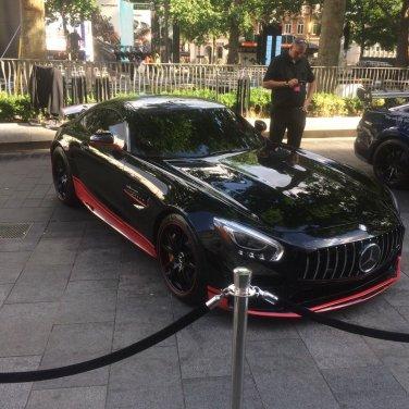 Transformers mercedes car