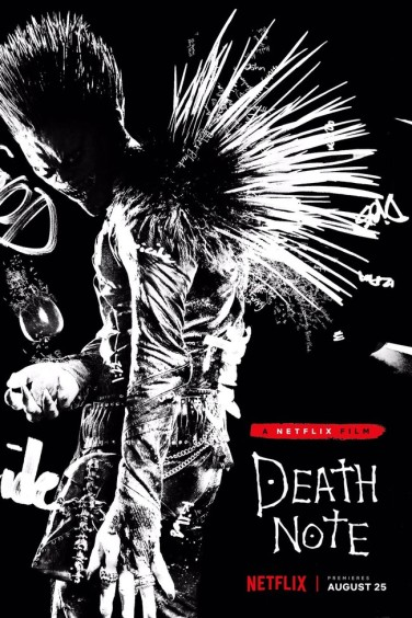 Ryuk portrayed by Jason Liles and voiced by Willem Dafoe