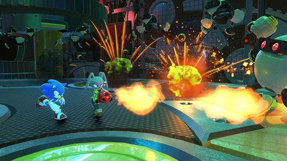 The Sonic Forces game release date has been announced