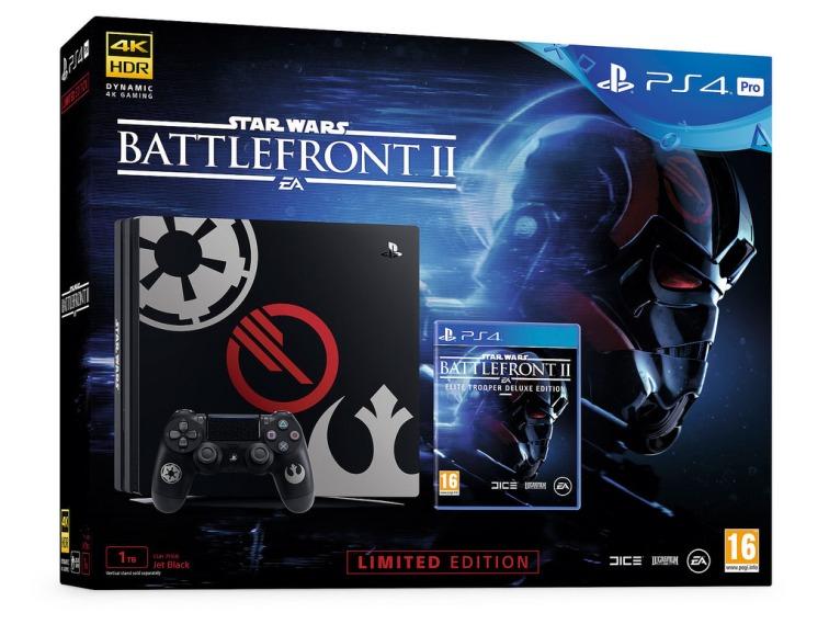 Black PS4 PRO Star Wars Bundle