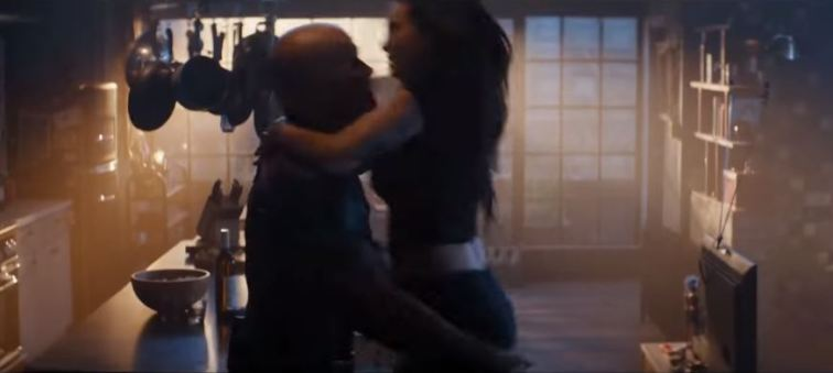 Deadpool 2 pic 4 and his chick