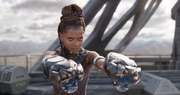 Shuri looking badass