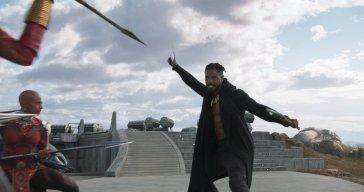 Erik Killmonger ready for war