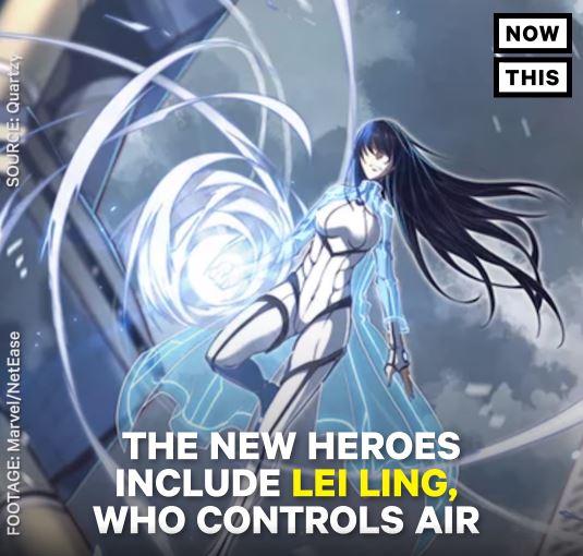 Marvel China Hero 8
