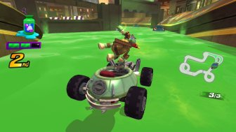 Nickelodean Kart Racers 1