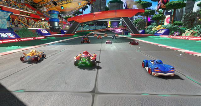 TSR Screenshot race 1