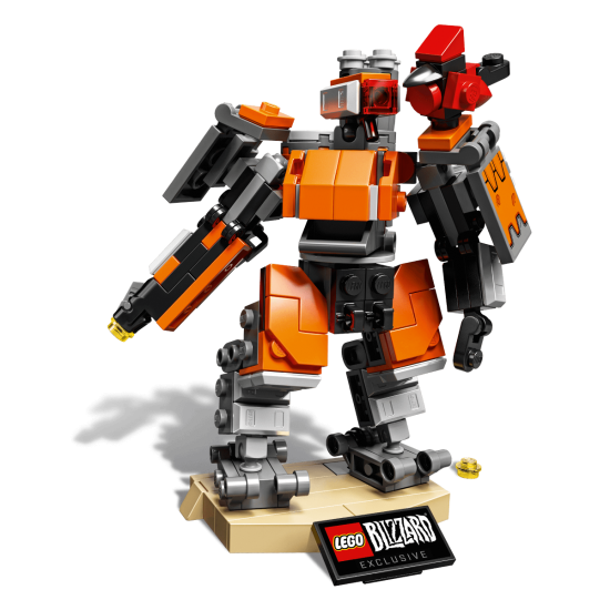 Lego Overwatch Bastion 2