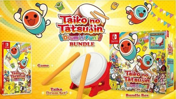 Taiko Game Drum Set