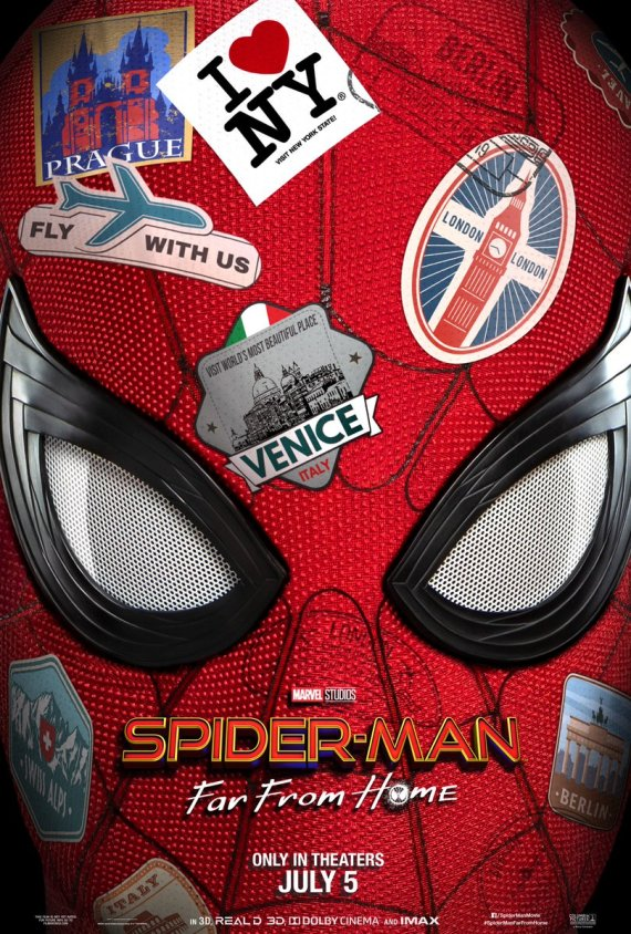 spiderman far from home poster