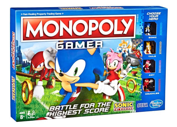 Sonic Monopoly Game